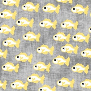 Fish Printf or Cat Stuff Yellow