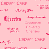 Cherries text