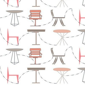 mix n match tables and chairs dot to dot