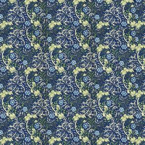 William Morris Blue Daisies