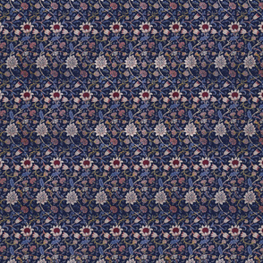 William Morris Evenlode in Blue