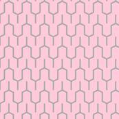Pink Grey Spires