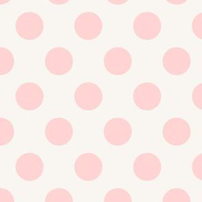 Polka Dot Pale Pink