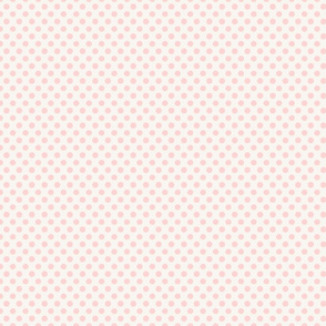 Polka Dot Pale Pink Small