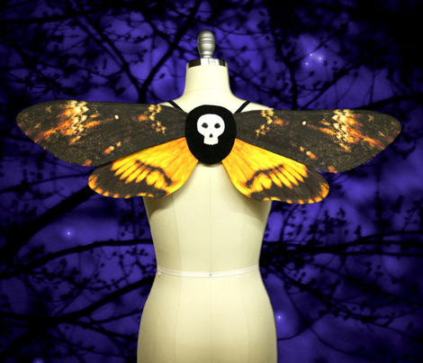 Death's Head Moth Costume DIY
