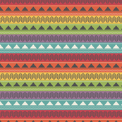 Colorful Tribal Stripes