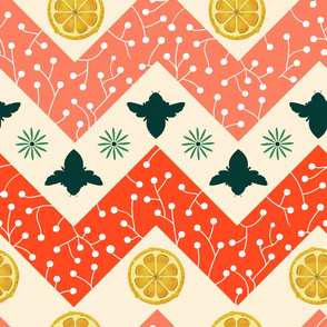 Honey Lemon Chevron