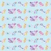 crystal pony stripe