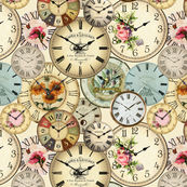 Rustic Cottage Chic Clocks