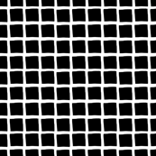 black and white grid small reverse