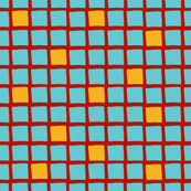 blue yellow red grid large