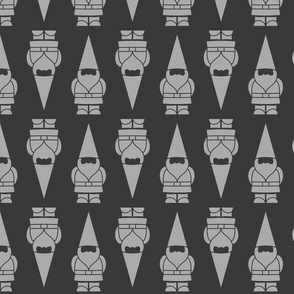 Gray Graphic Gnomes