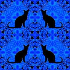 Cat Damask 10