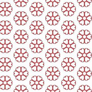 Kate Greenaway ~ Encircled Hearts
