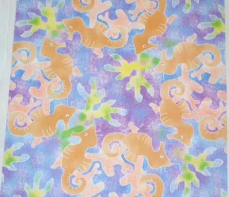 Spongy Seahorses