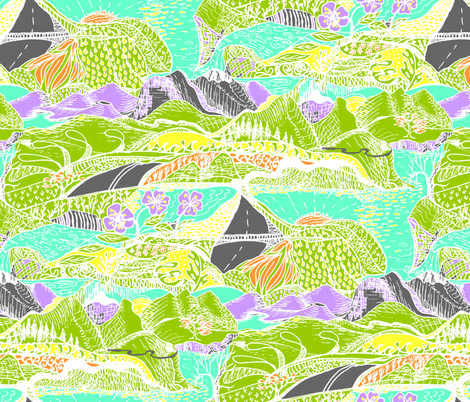 Hiking Through My Imagination - Tropical Colours