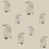 penguin light grey