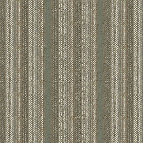 Weaver's Blanket, vertical stripe - grey