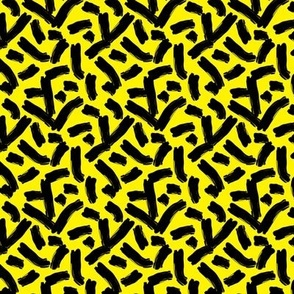 cheese doodles black on yellow
