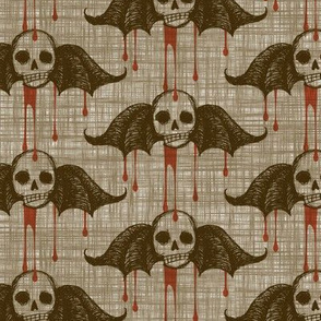 Bleeding Skulls - antique