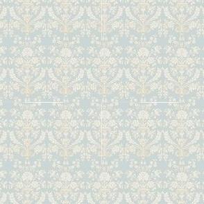French damask - paris grey