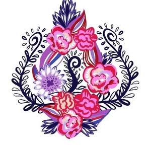 Floral Ogee