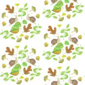 Leafy snail