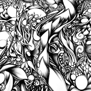 Doodle 1 (Dark)