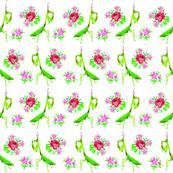 Floral mantis
