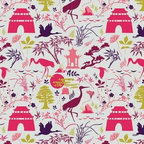 Asian Garden - Brights