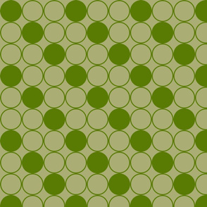 Concentric Circles in Asparagus and Split Pea