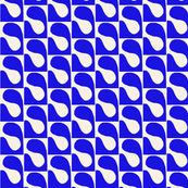 Puzzle Blue White