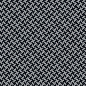 Houndstooth Black&Grey small