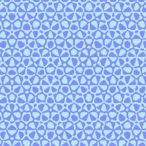 Carolina blue star quasicrystal