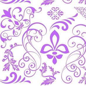 Violet storm dance