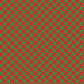 Houndstooth Red&Green small