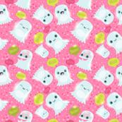 ghos pattern pink