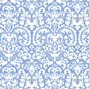 Anna Jacquard Blue/white