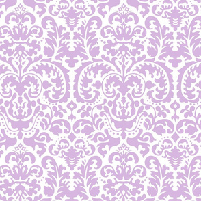Anna Jacquard white/lavender
