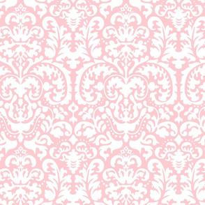 Anna Jacquard pink/white