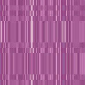 Raspberry Sorbet Broken Stripes