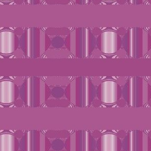 Berry Pink Geometric