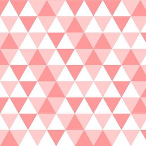 Triangles Corals White