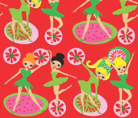 Christmas Candy Ballet