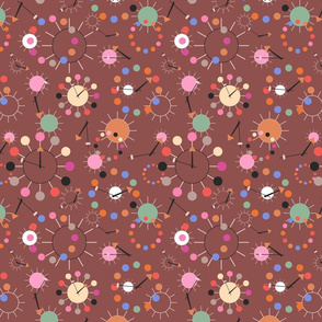 Atomic Clocks Pink Chocolate