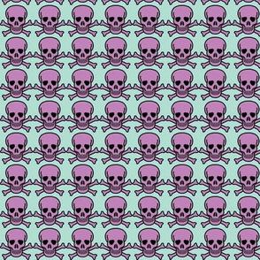 Skulls Purple