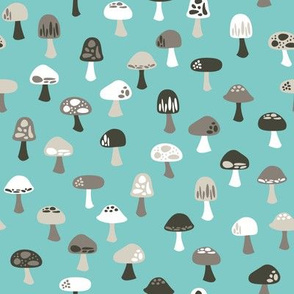 Woodland Mushrooms (cool)