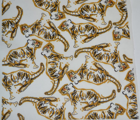 Scattered Ghostly Tigers