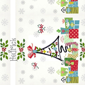 White Christmas LG vertical-personalized