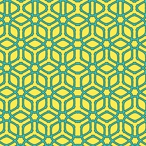 Moroccan Yellow/Blue